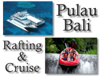 Paket Bali 4D3N Day Cruise Rafting Ubud Shoping Tour