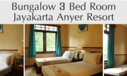 Jayakarta Anyer Resort Bungalow 3 Bed Room